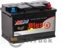 Аккумулятор AUTOPART Japan Plus 12v - 45 Ah, L, EN380, (д232хш122хв225)