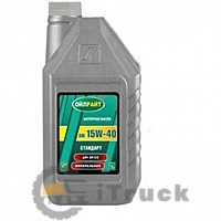 Масло моторное OIL RIGHT Стандарт 15W-40, API SF/CC, 1л