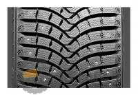 Шина зимняя MICHELIN Latitude X-Ice North 2 235/65 R17 108T шип